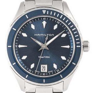 Hamilton H37451141 Kello Sininen / Teräs