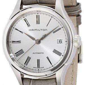 Hamilton H39415854 Kello Hopea / Nahka