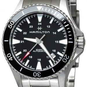 Hamilton H82335131 Kello Musta / Teräs