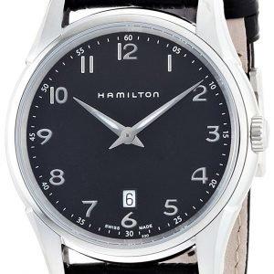Hamilton Jazzmaster H31211135 Kello Musta / Nahka