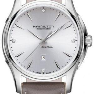 Hamilton Jazzmaster H32315891 Kello Hopea / Nahka