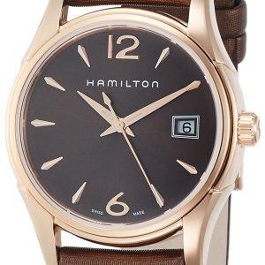 Hamilton Jazzmaster H32341975 Kello Ruskea / Satiini