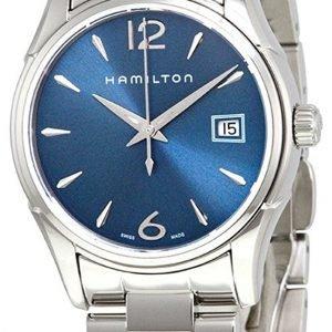Hamilton Jazzmaster H32351145 Kello Sininen / Teräs