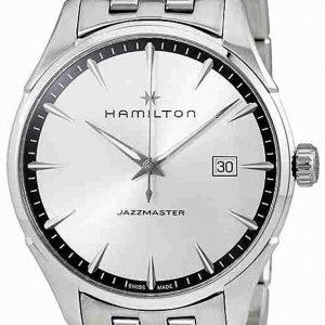 Hamilton Jazzmaster H32451151 Kello Hopea / Teräs