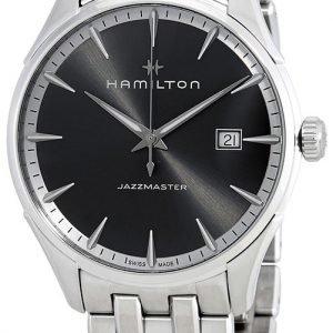 Hamilton Jazzmaster H32451181 Kello Musta / Teräs