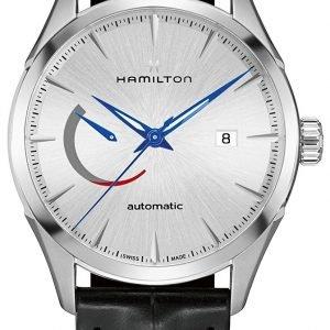 Hamilton Jazzmaster H32635781 Kello Hopea / Nahka