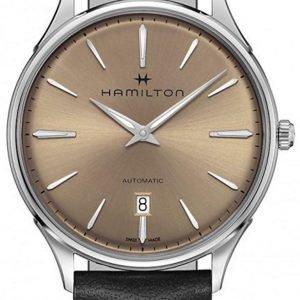 Hamilton Jazzmaster H38525721 Kello Ruskea / Nahka