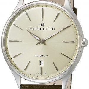 Hamilton Jazzmaster H38525811 Kello Samppanja / Nahka