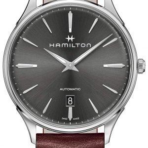 Hamilton Jazzmaster H38525881 Kello Harmaa / Nahka