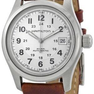 Hamilton Khaki Field H70455553 Kello Hopea / Nahka
