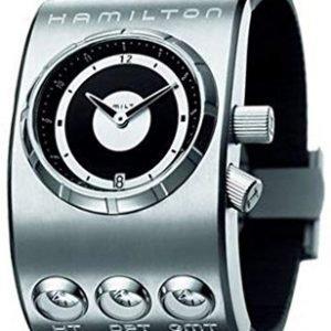 Hamilton Khaki H51591399 Kello Musta / Kumi
