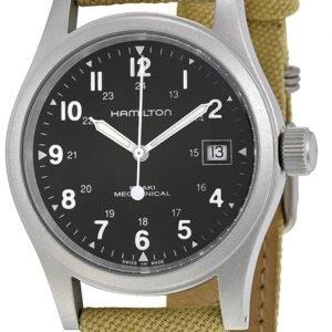 Hamilton Khaki H69419933 Kello Musta / Tekstiili