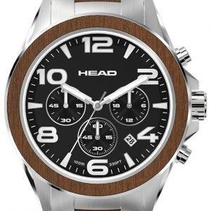 Head Heritage He-001-01 Kello Musta / Teräs