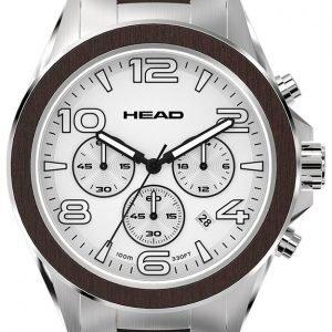 Head Heritage He-001-02 Kello Valkoinen / Teräs