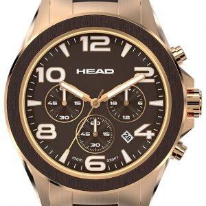 Head Heritage He-001-03 Kello Ruskea / Punakultasävyinen