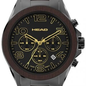 Head Heritage He-001-05 Kello Musta / Teräs