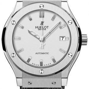 Hublot Classic Fusion 542.Nx.2610.Lr Kello Hopea / Nahka
