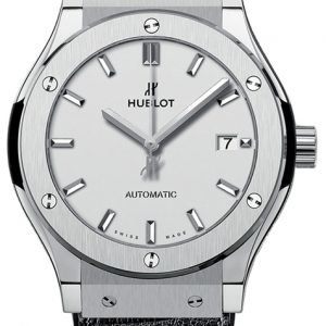 Hublot Classic Fusion 542.Nx.2611.Lr Kello Hopea / Nahka