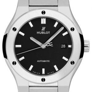 Hublot Classic Fusion 548.Nx.1170.Nx Kello Musta / Titaani
