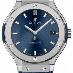 Hublot Classic Fusion 565.Nx.7170.Lr Kello Sininen / Nahka