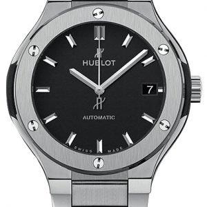 Hublot Classic Fusion 568.Nx.1170.Nx Kello Musta / Titaani