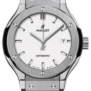 Hublot Classic Fusion 582.Nx.2610.Rx Kello Valkoinen / Kumi