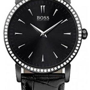 Hugo Boss 1502303 Kello Musta / Nahka