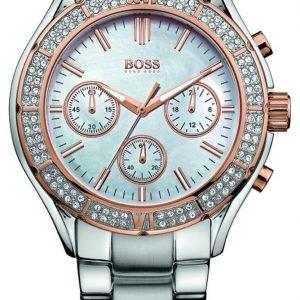 Hugo Boss 1502334 Kello Valkoinen / Teräs