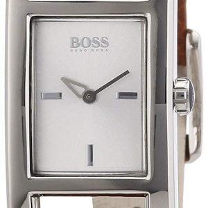 Hugo Boss 1502335 Kello Hopea / Nahka