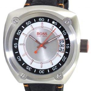 Hugo Boss 1512301 Kello Hopea / Nahka