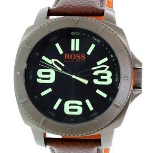 Hugo Boss 1513164 Kello Musta / Nahka