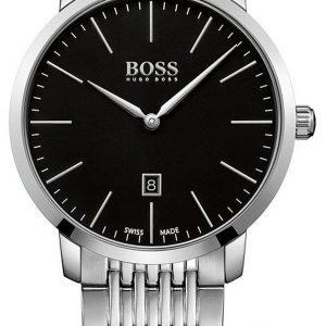 Hugo Boss 1513259 Kello Musta / Teräs