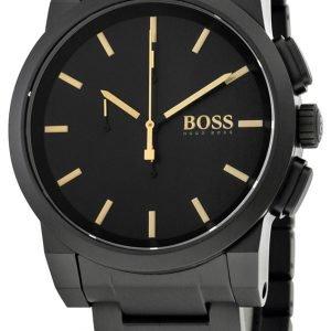 Hugo Boss 1513276 Kello Musta / Teräs