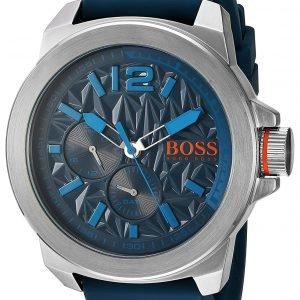 Hugo Boss 1513376 Kello Sininen / Kumi