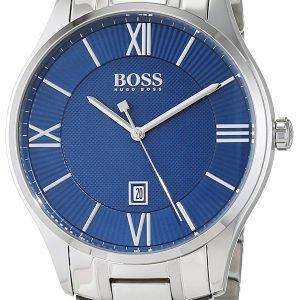 Hugo Boss 1513487 Kello Sininen / Teräs