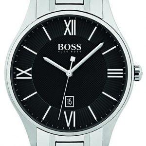 Hugo Boss 1513488 Kello Musta / Teräs