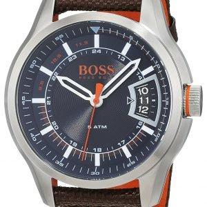 Hugo Boss 1550002 Kello Sininen / Nahka
