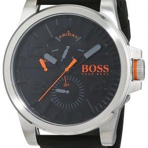 Hugo Boss 1550006 Kello Musta / Kumi