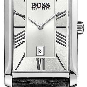 Hugo Boss Admiral 1513435 Kello Hopea / Nahka