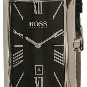 Hugo Boss Admiral 1513437 Kello Musta / Nahka