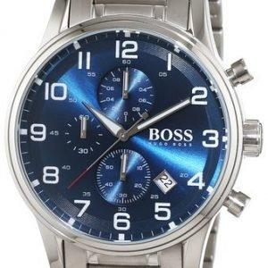 Hugo Boss Aeroliner 1513183 Kello Sininen / Teräs