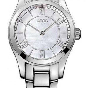 Hugo Boss Ambassador 1502377 Kello Valkoinen / Teräs