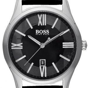 Hugo Boss Ambassador 1513022 Kello Musta / Nahka