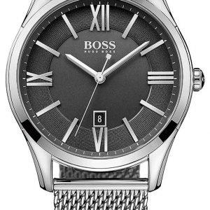 Hugo Boss Ambassador 1513442 Kello Musta / Teräs