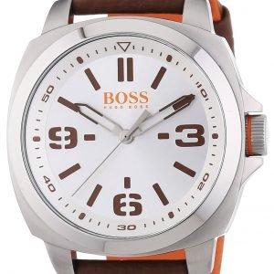 Hugo Boss Brisbane 1513097 Kello Hopea / Nahka