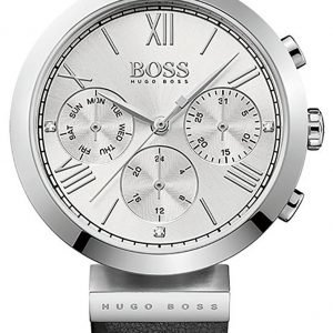 Hugo Boss Chronograph 1502395 Kello Hopea / Nahka