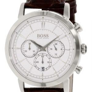 Hugo Boss Chronograph 1512871 Kello Hopea / Nahka