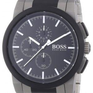Hugo Boss Chronograph 1512958 Kello Musta / Teräs
