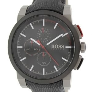 Hugo Boss Chronograph 1512979 Kello Musta / Nahka