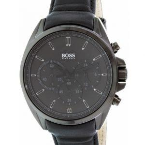 Hugo Boss Chronograph 1513061 Kello Musta / Nahka